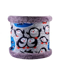 4FUN - Scalda collo scarf in Polartec Pro reversibile per bambini - colore Igloo Kid