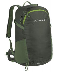 VAUDE - Zaino per trekking Wizard 24 + 4 - Verde