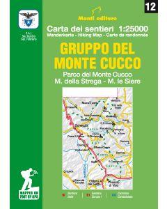 MONTI EDITORE - Cartina 1:25000 Monte Cucco