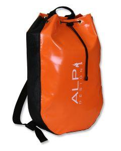 ALP DESIGN - Sacca porta corda Manta per torrentismo arancione