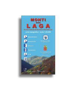 SOCIETA' EDITRICE RICERCHE - Cartina parco Monti della Laga 1:25.000