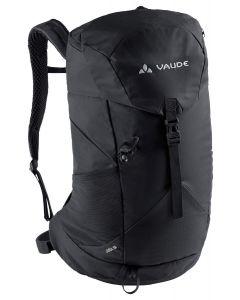 VAUDE - Zaino per trekking con schienale ventilato Jura 18 l - Nero