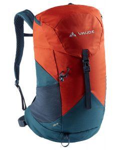 VAUDE - Zaino per trekking con schienale ventilato Jura 18 l - Marrone