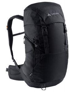 VAUDE - Zaino per trekking con schienale ventilato Jura 32 l - Nero