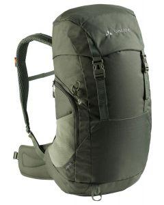 VAUDE - Zaino per trekking con schienale ventilato Jura 32 l - Verde