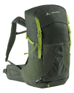 VAUDE - Zaino per trekking con schienale ventilato Brenta 24 l - Verde