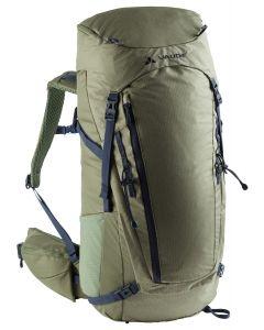 VAUDE - Zaino trekking schienale regolabile Asymmetric 42+8 - Verde