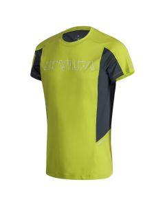 MONTURA - T-Shirt per uomo per la corsa Run Logo - Verde