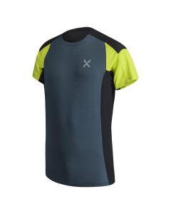 MONTURA - T-Shirt per uomo trekking e corsa Outdoor Trail 2 - Blu