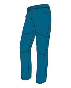 MONTURA - Pantalone per uomo leggero in cotone M+ - Blu ottanio