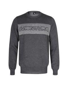 MONTURA - Maglia uomo girocollo in lana Sciliar - Grigio