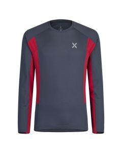 MONTURA - T-Shirt uomo manica lunga Under Micro Maglia - Grigio
