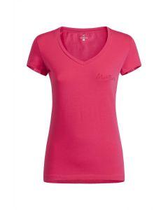 MONTURA - T-Shirt donna in cotone manica corta Lotus - Rosa