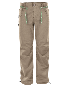 ROCK SLAVE - Pantalone uomo lungo in cotone leggero Bug - Beige