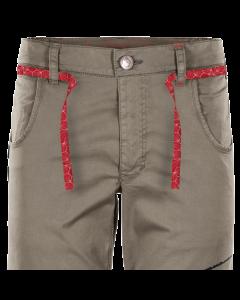 ROCK SLAVE - Pantalone uomo corto in cotone Tony - Beige