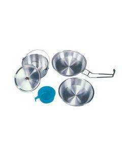 BRUNNER - Gavetta in alluminio per campeggio Cook set Alu 1