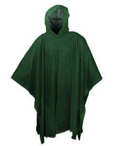 BRUNNER - Impermeabile Poncho Rainman Verde