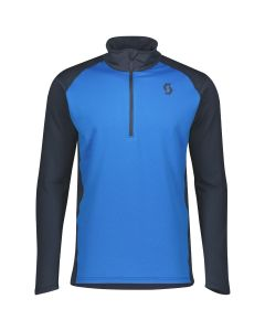 SCOTT - Maglia uomo mezza zip Pullover Defined Light - Blu