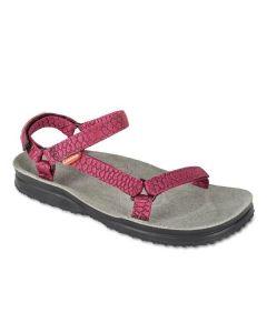 LIZARD - Sandalo plantare in pelle suola Vibram Super Hike W - Skin Rose - tg. 39