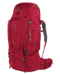 FERRINO - Zaino schienale regolabile per trekking viaggio Transalp 60 - Rosso