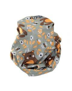 4FUN - Scalda collo scarf 8 in 1 in micro fibra Standard per bambini - colore Bear