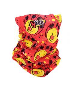4FUN - Scalda collo scarf 8 in 1 in micro fibra Standard per bambini - colore Lady bug