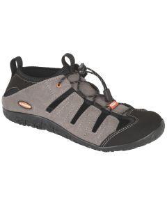LIZARD - Sandalo chiuso in micro fibra suola Vibram Ibrido II M - Dark Grey