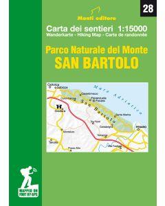 MONTI EDITORE - Cartina 1:15000 San Bartolo