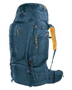 FERRINO - Zaino schienale regolabile per trekking viaggi Transalp 80 - Blu