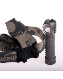 ZEBRA LIGHT - Set luce frontale una lampada spot KIT H600d Mk IV