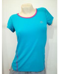 MICO - T-Shirt donna girocollo per trekking e corsa - tg. XS