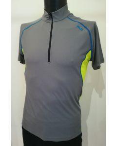 MICO - T-Shirt uomo mezza zip trekking Grigio