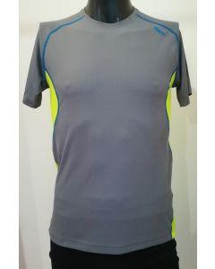 MICO - T-Shirt uomo girocollo trekking Energy Grigio