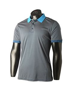 MICO - T-Shirt uomo polo grigio
