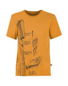 E9 - T-shirt manica corta uomo Preserve - Giallo - Tg.S