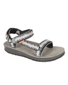 LIZARD - Sandalo plantare in pelle suola Vibram Super Hike W - Digit Grey