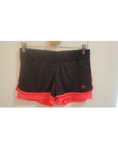 MICO - Pantalone donna corto con slip interno per la corsa - Rosa - tg. M