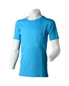 MICO - T-Shirt bambino giro collo per trekking Azzurro