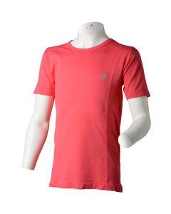 MICO - T-Shirt bambino giro collo per trekking - Rosa