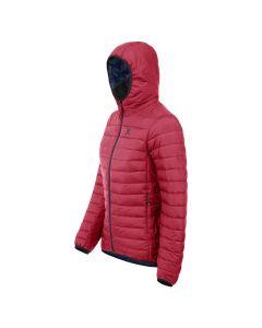 MONTURA Piumino donna con cappuccio sotto giacca Genesis Hoody - Rosa