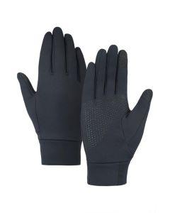MONTURA - Guanto con dito touch e grip Confort Glove - Nero