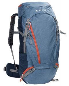 VAUDE - Zaino trekking schienale regolabile Asymmetric 52+8 l - Blu