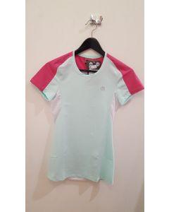 MICO - T-Shirt donna girocollo per trekking e corsa - Piperita