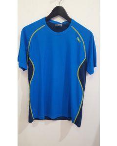 MICO - T-Shirt uomo girocollo trekking Energy Blu