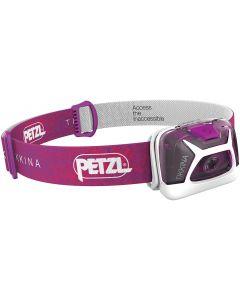 PETZL - Luce frontale tikkina 150  lumen - rosa