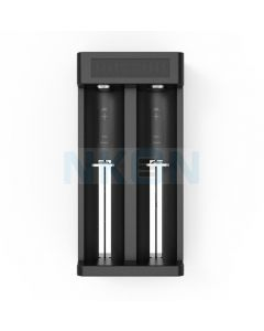 ZEBRA LIGHT - Carica batteria 2 slot XTAR MC2 PLUS