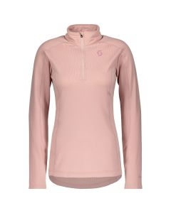 SCOTT . Maglia donna mezza zip Pullover Defined light WOMAN