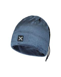 MONTURA - Scalda collo cappello Collar Polar Cap - Blu Cenere 86