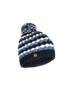 MONTURA - Cappello con pompon Bubble Cap - Blu