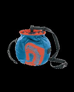 ROCK SLAVE - Porta magnesite con cintura Chalkolate - Blu